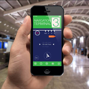 Indoor navigation Home, Instaward Communication Platform