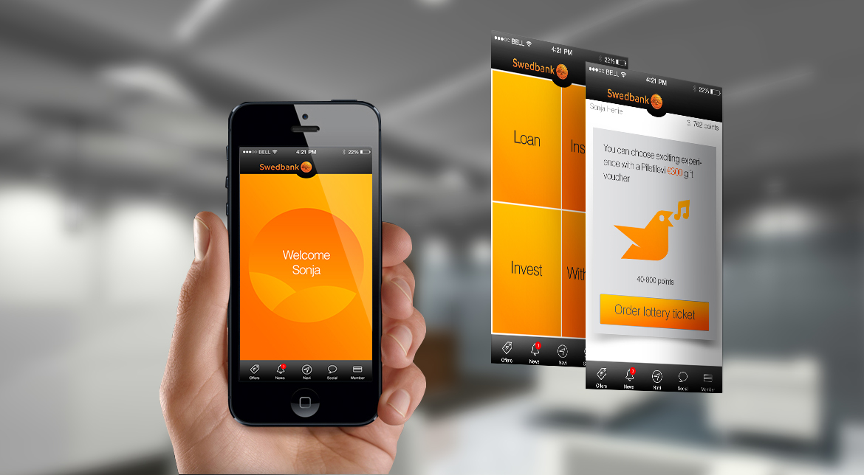 InstawardBank2 Bank, Instaward Communication Platform