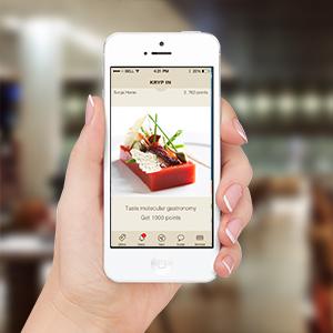 Restaurant WHO WILL USE THE GEAR?, Instaward Communication Platform